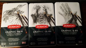 Derwents' new Graphic Pencils range