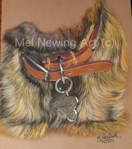 "London Art College assignment piece ""Dog Collar"""